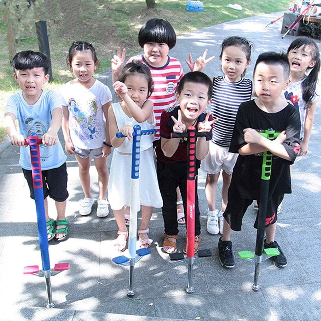 WENJIE Pogo Stick for Kids Jungen und Mädchen Pogo-Stick Stelzen wie EIN Prellen Kinder 6-12 Jahre Kinder Geschenke Indoor/Outdoor-Spielzeug für C