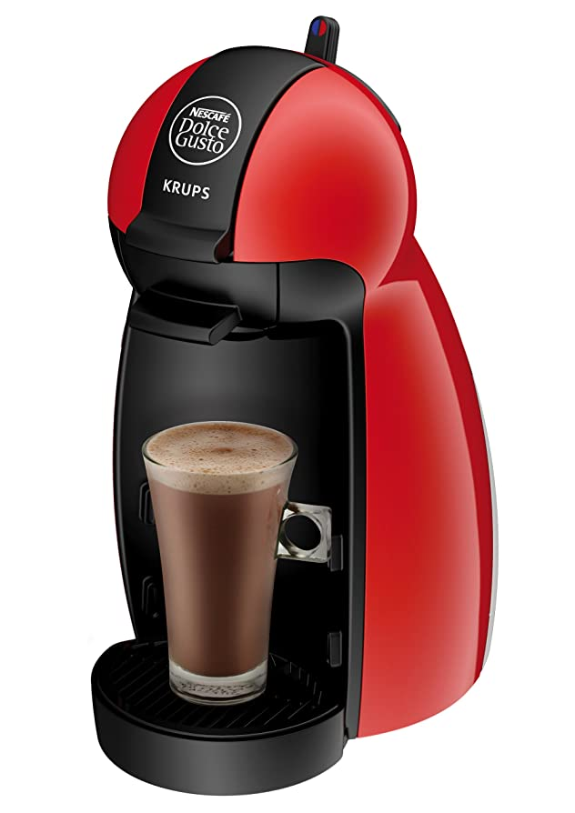 NESCAFE Dolce Gusto Piccolo Manual Coffee Machine by Krups - Red ...