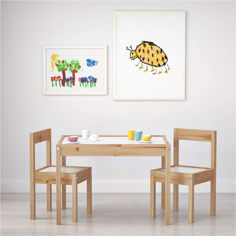 IKEA LATT Table et 7 chaises Enfant