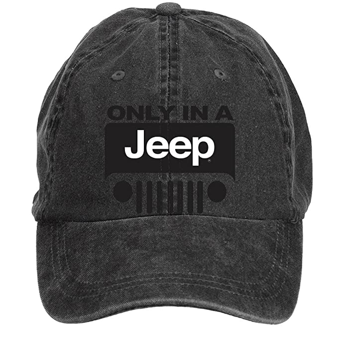 ciyanccapp Unisex Jeep Wrangler Logo Baseball Caps One Size ColorName  Velcro Adjustable 14bfb05ac88