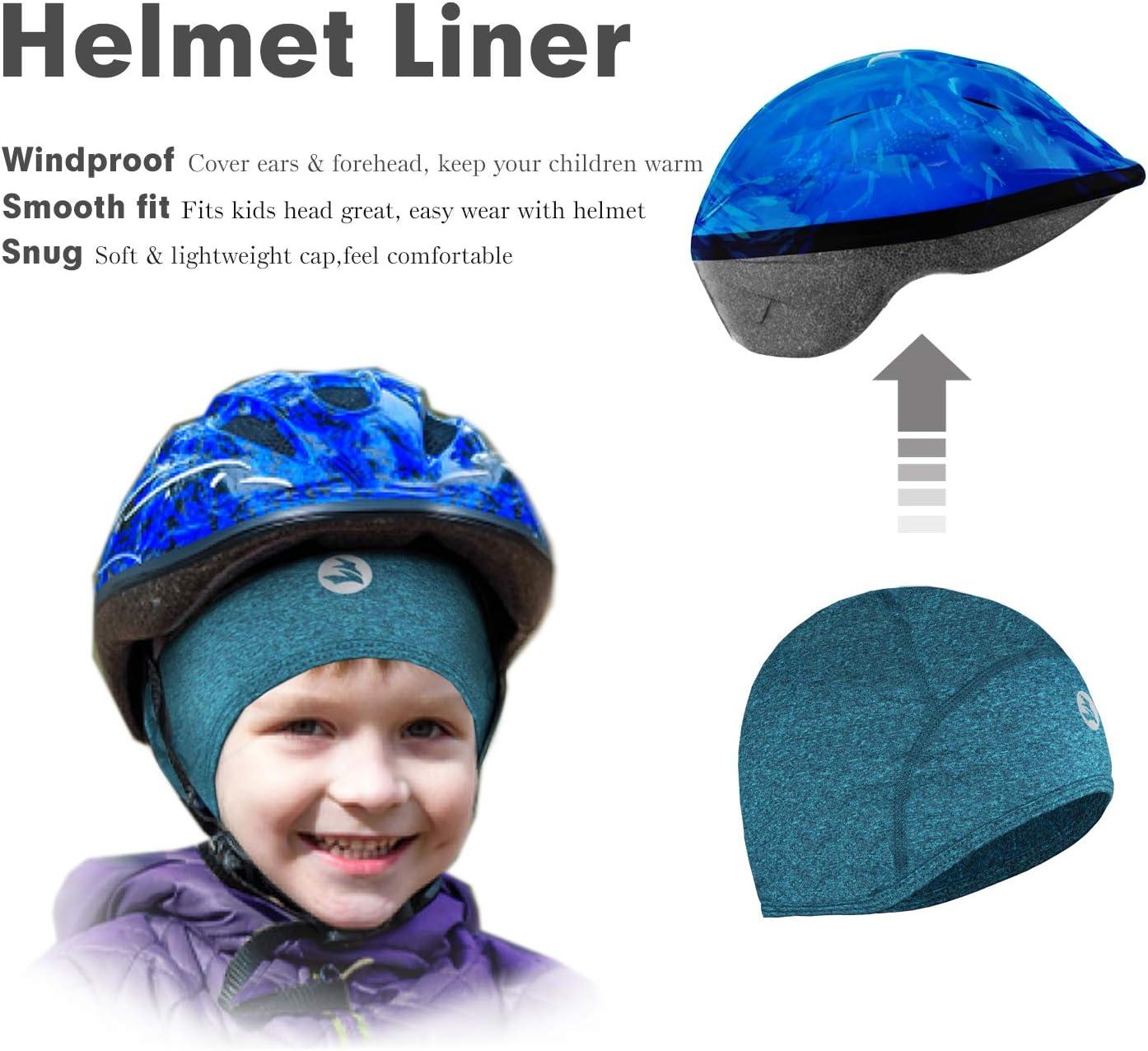 Empirelion Bonnet Thermique pour Enfant Motif t/ête de Mort