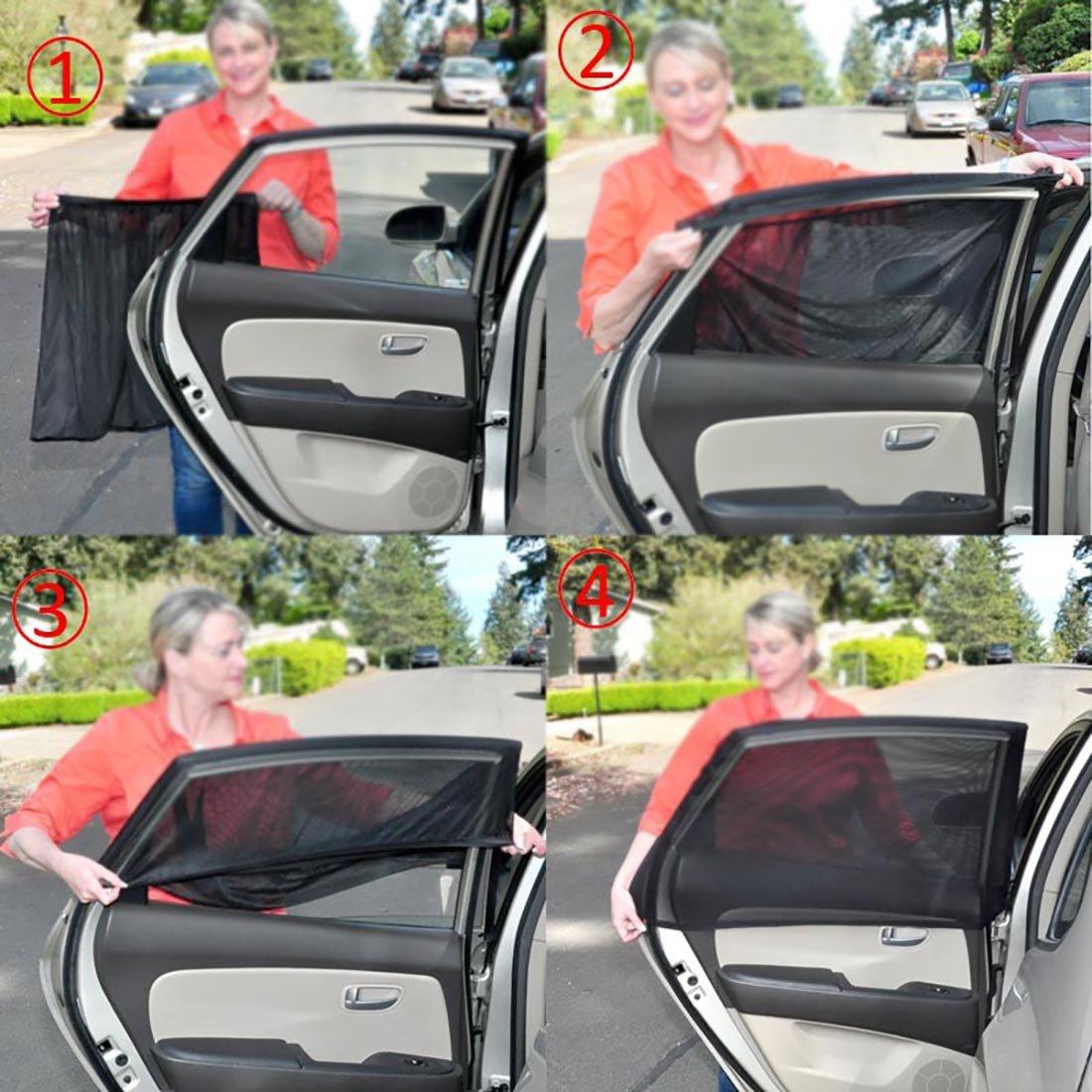 Auto Fenster-Blenden Sonnenblenden f/ür Kinder 2er Pack