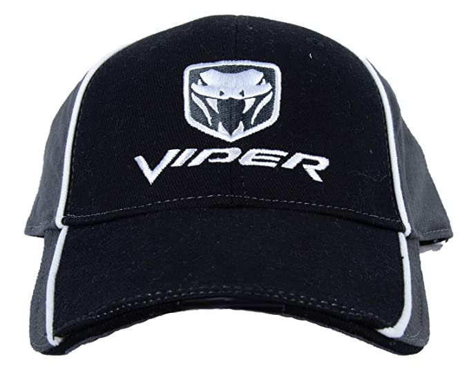 Amazon.com  Dodge VIPER Fine Embroidered Hat Cap 30d3c3902023