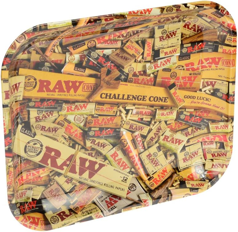 Bandeja de Liar Rolling Tray XL RAW Mixed Products (340x275mm)