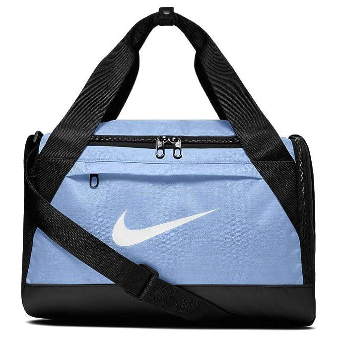 Nike Brasilia Training Duffel Bag (Extra-Small) (Light Blue Black ... db0feb77e08ca