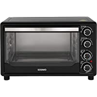 Amazon Brand - Solimo 32-Litre Oven Toaster Grill (Black)