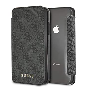 GUESS - Funda Tipo Libro Original Guess Charms 4G para iPhone XR: Amazon.es: Electrónica