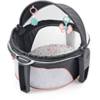 Fisher-Price On-The-Go Baby Dome - Pink Pacific Pebble, Portable Infant Play Space, Multicolored
