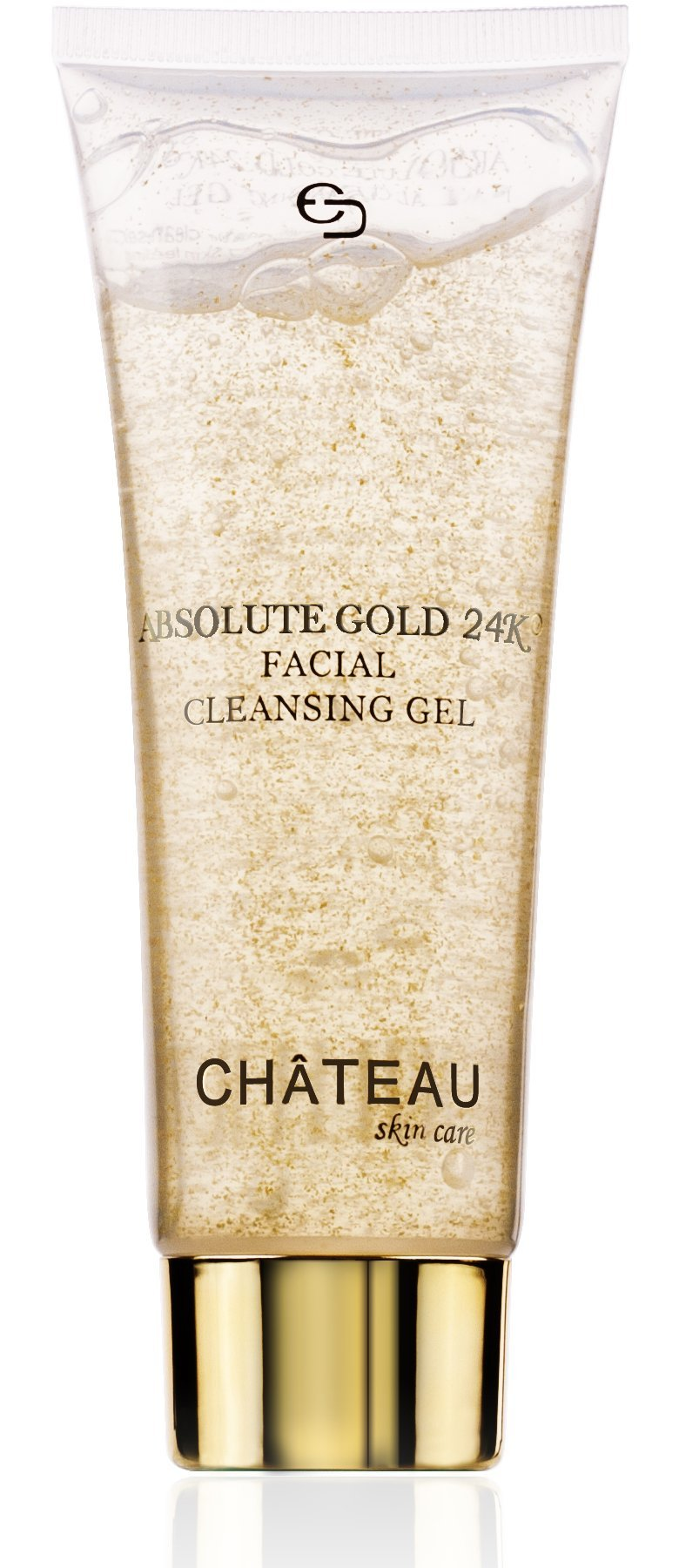 Absolute Gold 24K Facial Cleansing Gel - 24 KARAT GOLD, PEARL and SEAWEED EXTRACT. Excellent for all skin types. Minimizes pores and leaving skin glowing & radiant. FRAGRANCE FREE. by Botanical Beauty