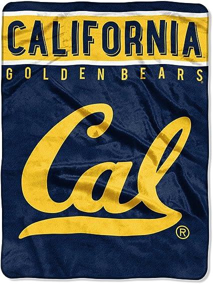 Brand New Official Licensed NCAA California Golden Bears 48x60 Woven Blanket