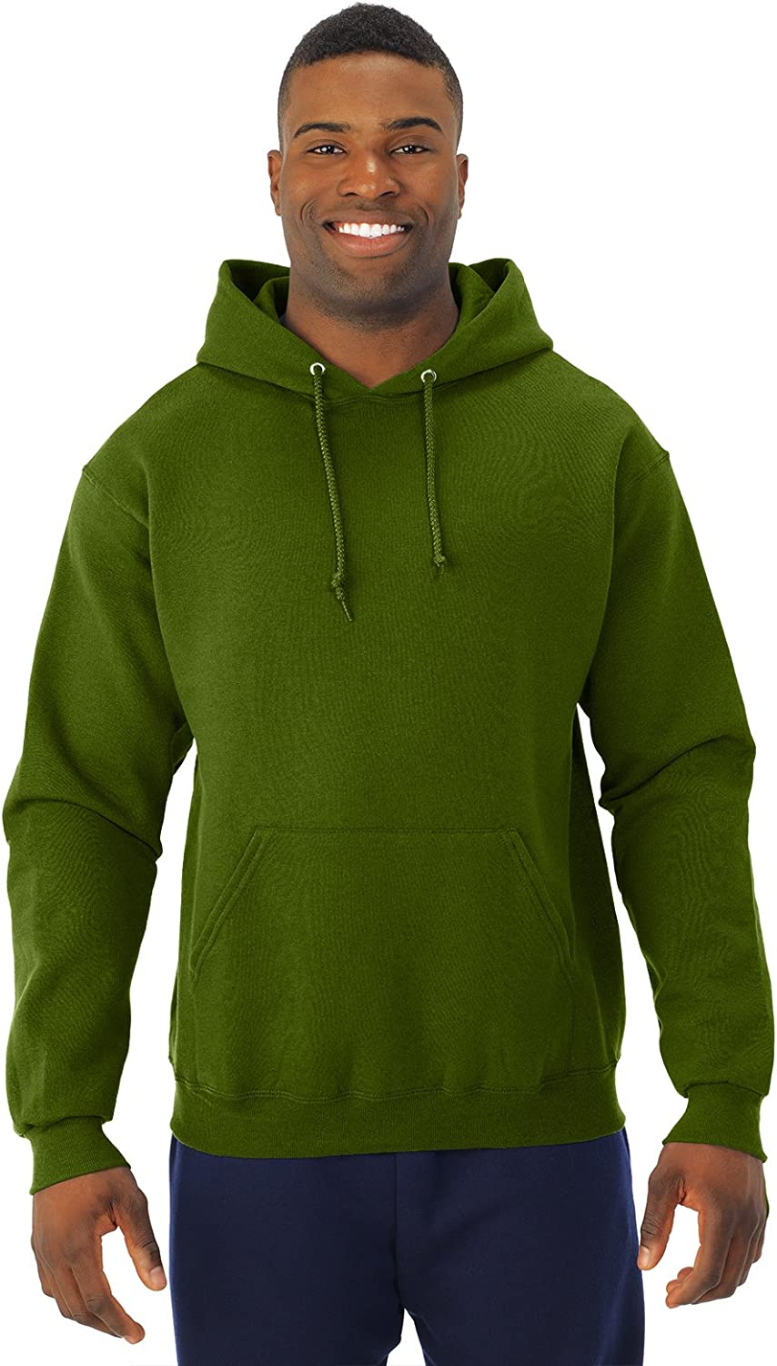 NuBlend 50//50 Pullover Hood XXX-Large Military Green Jerzees 8 oz