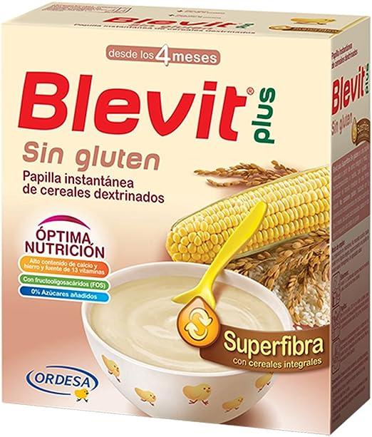 BLEVIT Plus Superfibra Sin Gluten - 600 gr: Amazon.es: Alimentación y bebidas