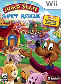 08b0b202cb7b Amazon.com  Jumpstart Pet Rescue - Nintendo Wii  Video Games