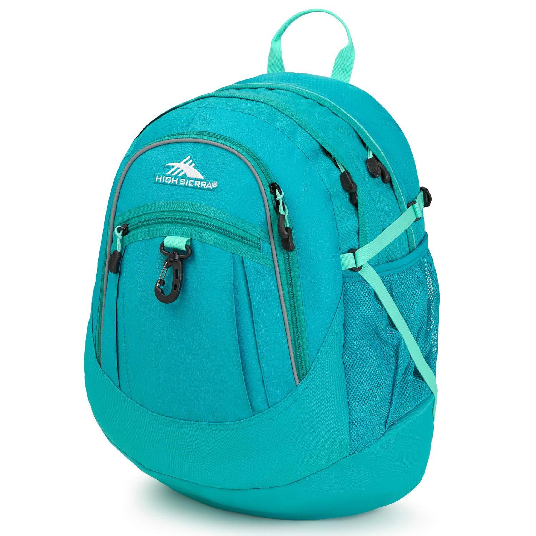Turquoise Aquamarine High Sierra Fat Boy Backpack