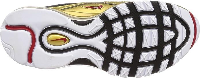 Nike Air Max 97 QS BlackVarsity Red (6.5 M US Big Kid)