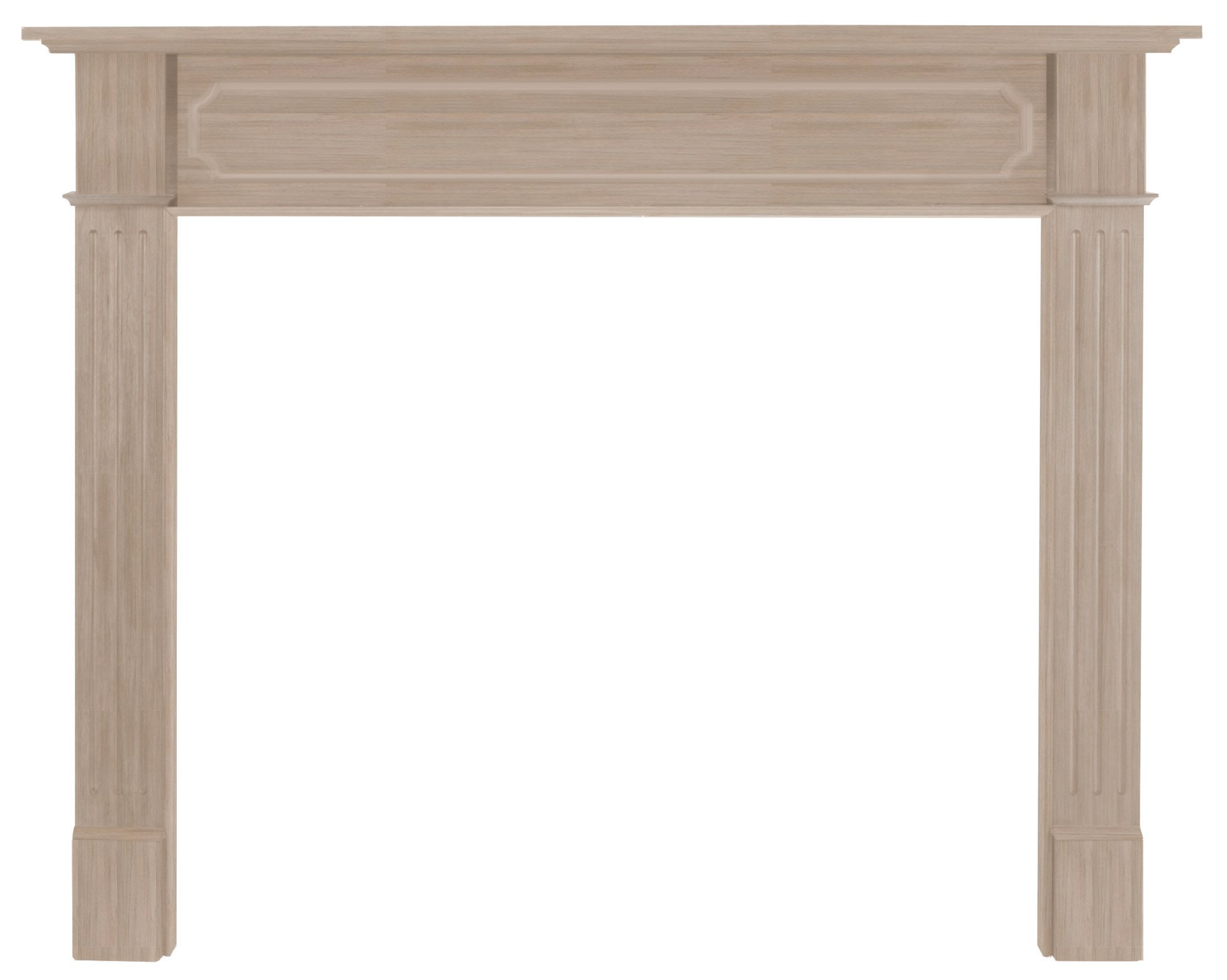 Pearl Mantels 111-50 Alamo 50-Inch Fireplace Mantel, Unfinished by Pearl Mantels
