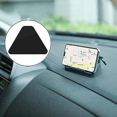 TXEsign Car Dashboard Desk Prop Stand Holder for Sunglass Phone with Non Slip Grip Pad (Dark Grey): Home & Kitchen