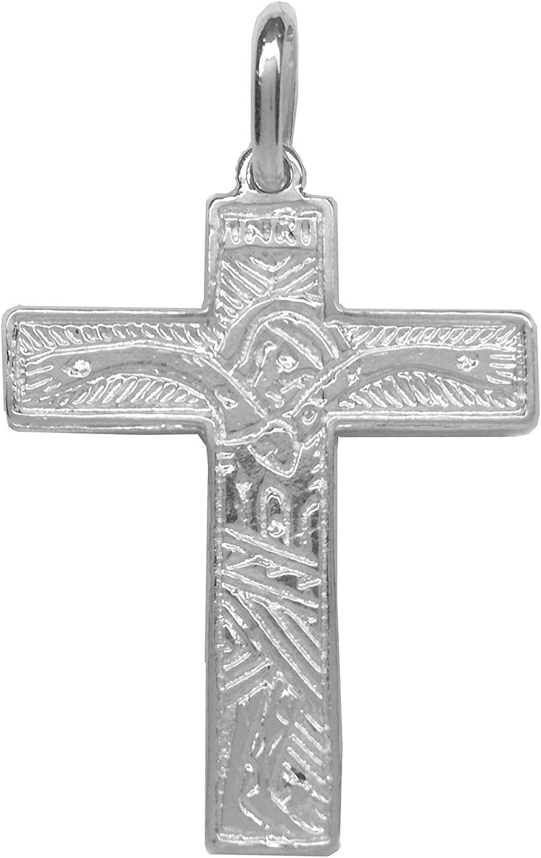 en argent sterling 925/milli/èmes/ Pendentif croix des familles,/chemin n/éocat/échum/énal Sebaoth