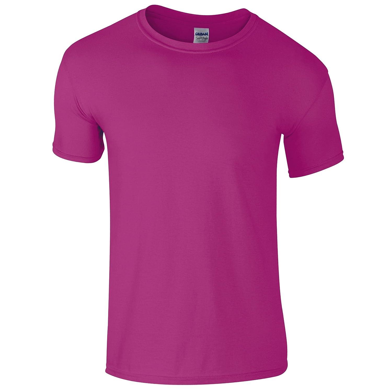 Gildan - Camiseta básica de manga corta 100% Algodón de gran calidad para hombre Y4RK0t