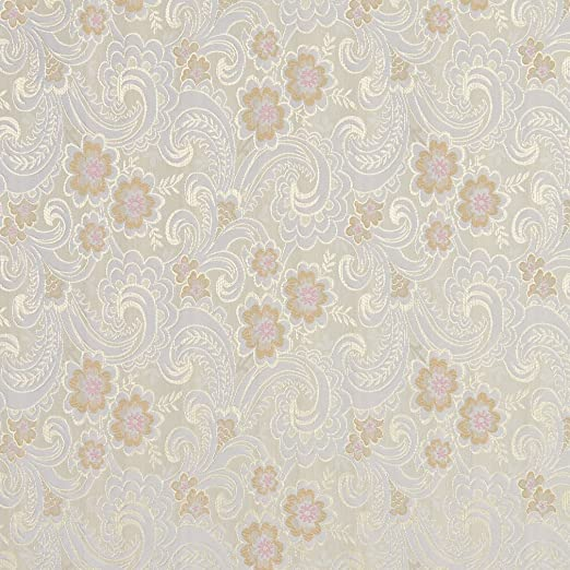 The luxury embroidery gorgeous brocade fabric 150 CM A39