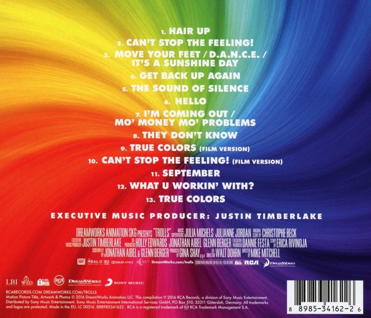 Original Motion Picture Soundtrack - TROLLS (Original Motion Picture Soundtrack) - Amazon.com Music