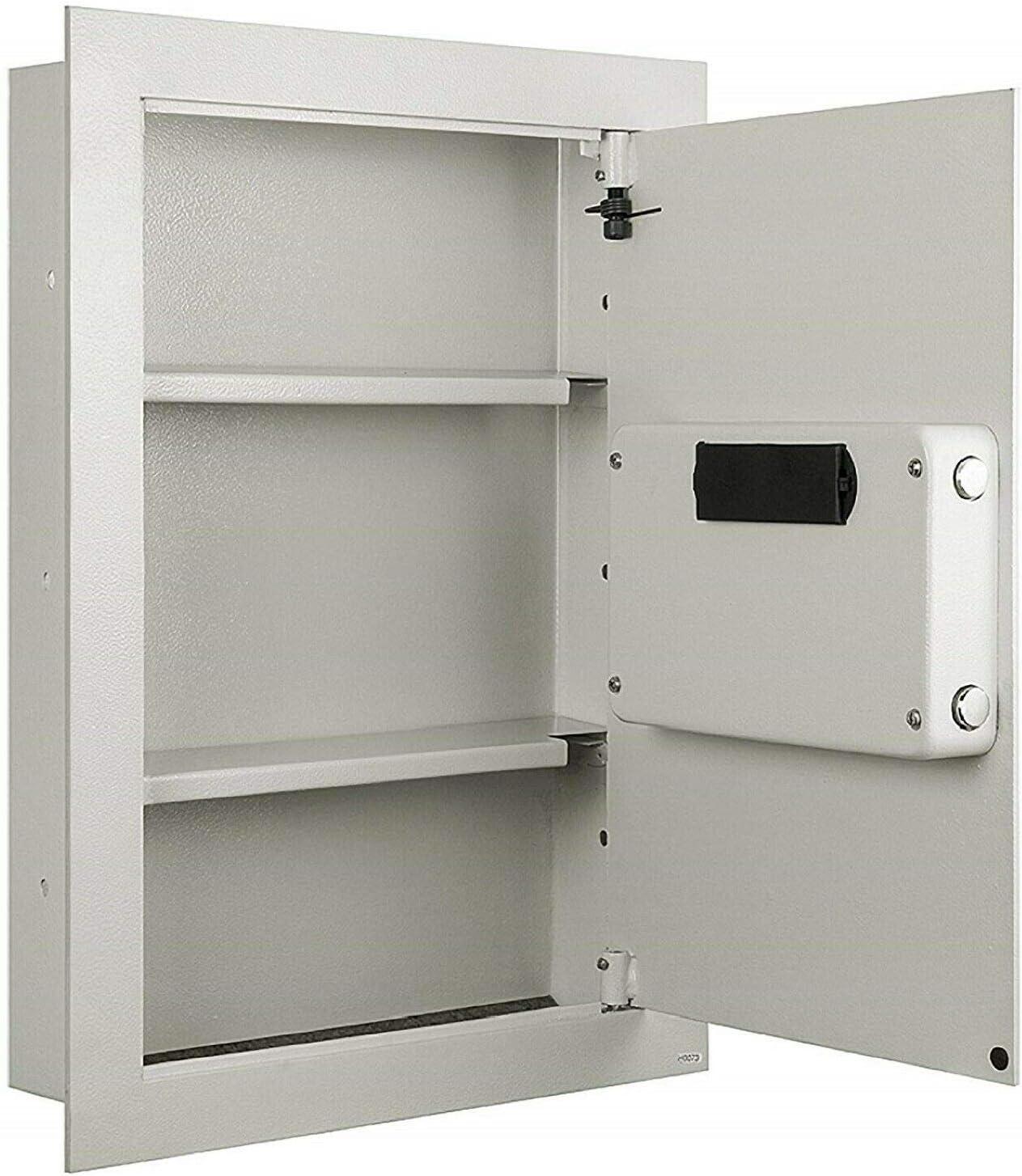 Large Hidden Wall Safe Electronic Security Jewelry Gun Cash Lock Box Fire Proof