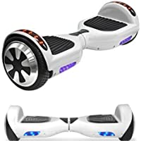 "NHT 6.5"" Electric Hoverboard Self Balancing Scooter with Built-in Bluetooth Speaker LED Lights - UL2272 Certified (Various Styles)"