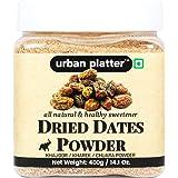Urban Platter Dried Date Powder [Kharek Powder], 400g (All Natural, Premium Quality, Healthy Sweetener)