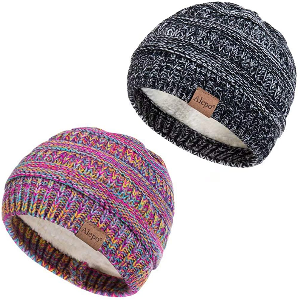 Baby Girl Boy Toddler Infant Kids Children Soft  Winter Knit Hat Beanies Cap Yc