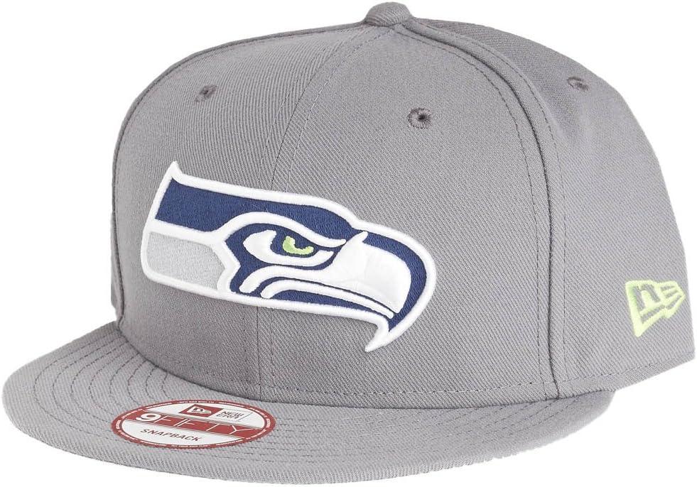 Seattle Seahawks storm grey New Era 9Fifty Snapback Cap