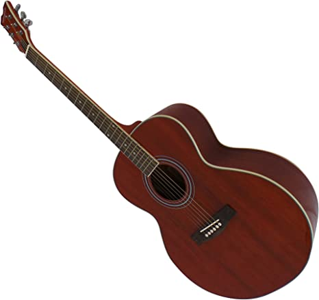 Guitarra acústica para zurdos tamaño completo cuerdas de acero de ...
