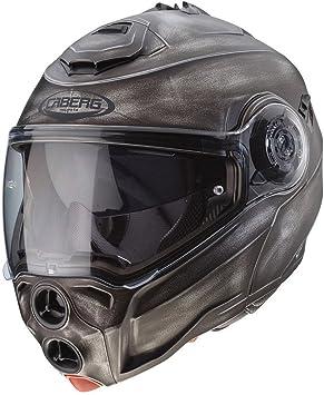 Caberg Droid Iron Flip Front Motorcycle Helmet M Iron