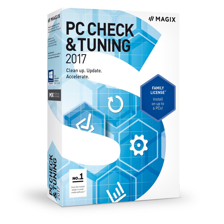 Amazon com: MAGIX PC Check & Tuning 2017 [Download]: Software