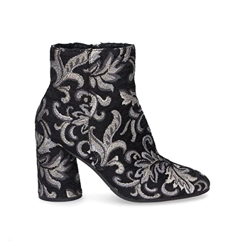 Elvio Zanon Mujer G4301 Negro Terciopelo Botines: Amazon.es: Zapatos y complementos