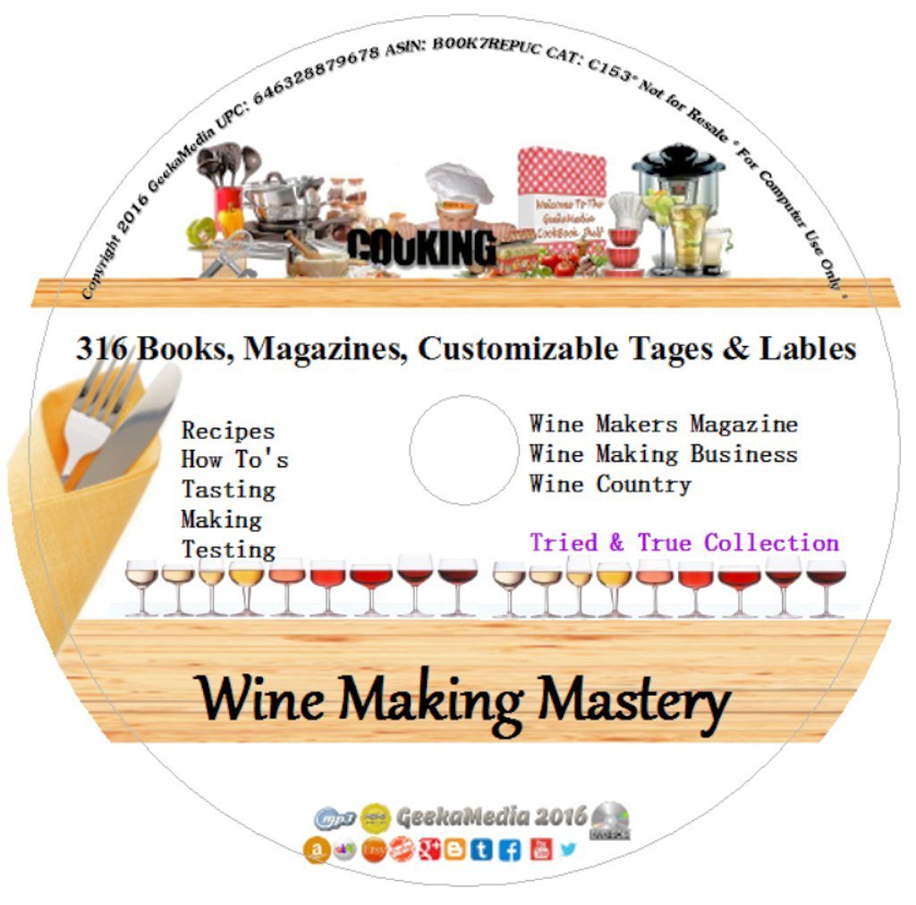 Wine Makers Master Series: Learn to Make Wine at Home by GeekaMedia