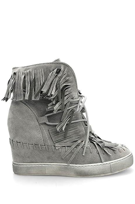 Zeppa Alx Scarpe Donna Trend Sneakers Interna da e Frange con w1ZAaqvx