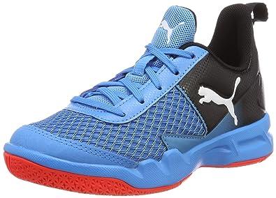 buy popular 797b4 0b9b0 Puma Rise XT 4 Jr, Chaussures Multisport Indoor Mixte Enfant, (Bleu Azur-