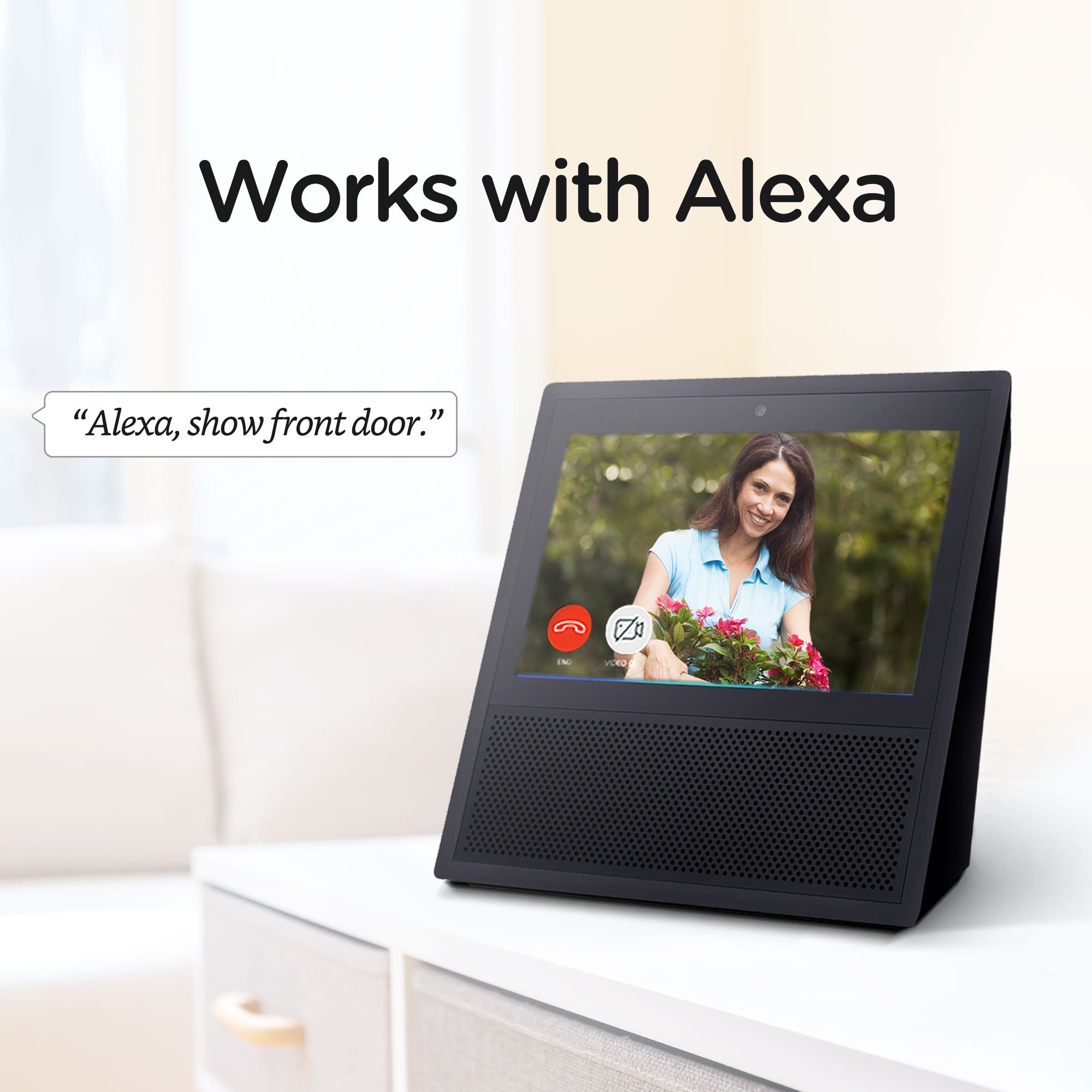Zmodo Greet Select WiFi Video Doorbell, 1080p Full HD Camera, Free 30-Day Cloud Service, Works with Alexa by Zmodo (Image #4)