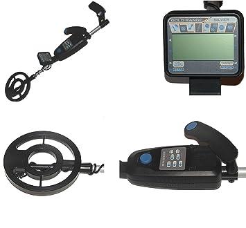 Detector de metales profesional Lafayette BUSCADOR-25D con pantalla LCD, localizar y control de umbral: Amazon.es: Electrónica