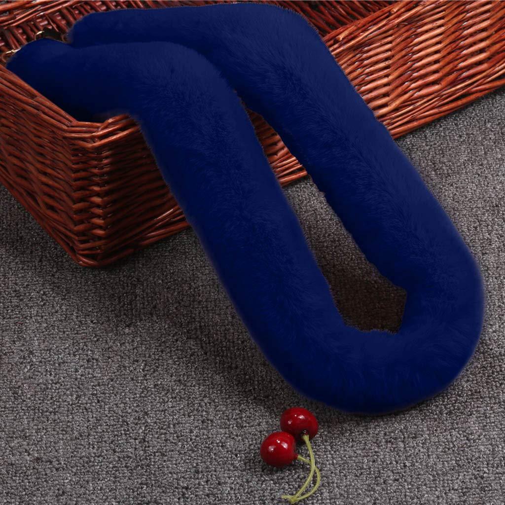 HSKB 120 cm a s da donna regolabile con fibbie in peluche universale colorata Tracolla di ricambio per borsa per fai da te