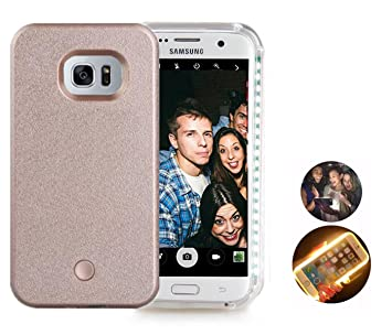 online store 7e122 9ea37 Galaxy s6 edge case,LED Light Selfie Phone Case For Samsung S6 Edge Hard  Back Phone Cover Light Up Covers,Led Illuminated case Great for a bright ...