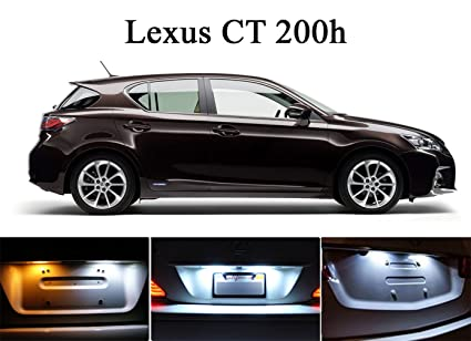 Delightful 2011   2013 Lexus CT200H Xenon White LED Lights Bulbs For License Plate /  Tag 2