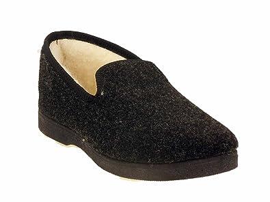 b9a631e3550 SEMELFLEX Charentaises Calohubert-Anthracite-  Amazon.fr  Chaussures ...
