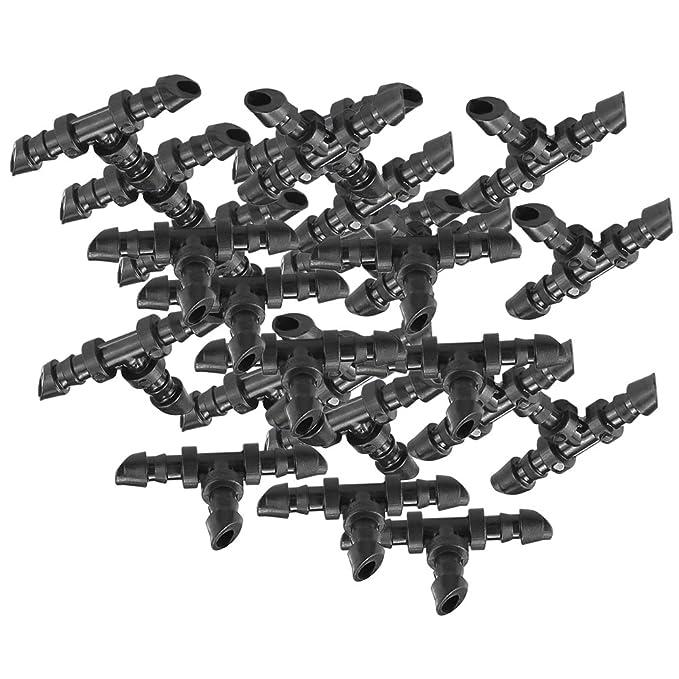25 Micro Bewässerung T Joiner Connector 4mm Hozelock kompatibel für Gewächshaus