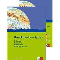 Haack Verbundatlas Erdkunde, Geschichte, Sozialkunde, Wirtschaftskunde. Ausgabe Rheinland-Pfalz: Atlas mit Arbeitsheft Klasse 5-10