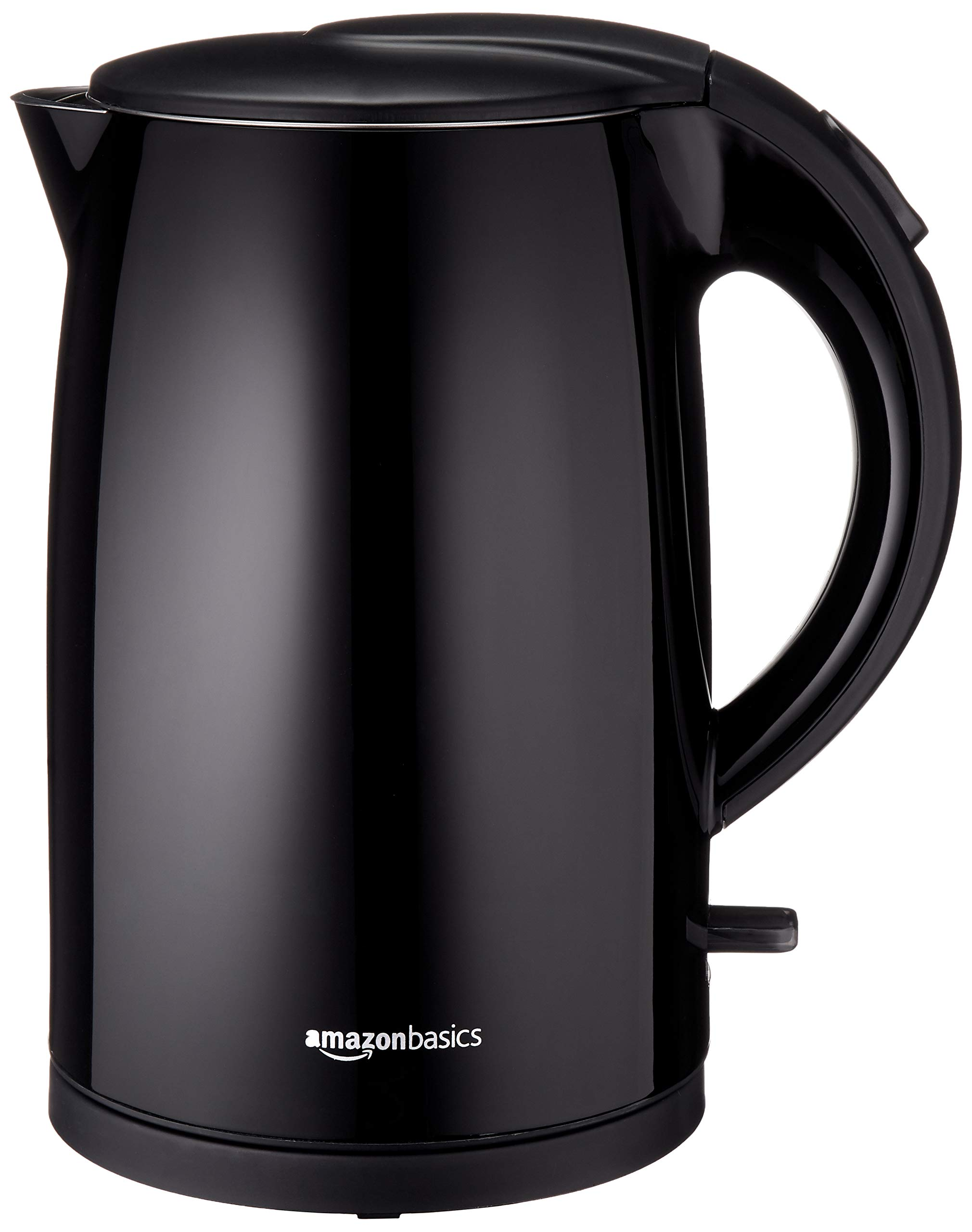 AmazonBasics Double-Walled Stainless Steel Kettle - 1.7 Liter
