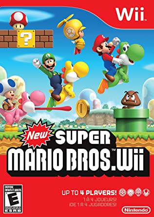 New Super Mario Brothers (Wii) [Importación inglesa]: Amazon.es ...