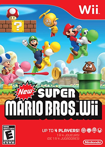 Amazon Com New Super Mario Bros Wii Nintendo Of America Video