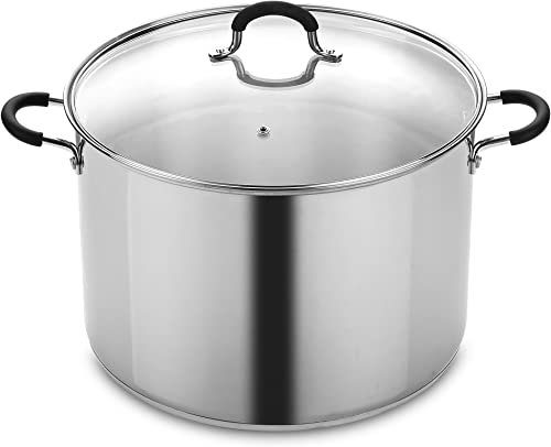 Cook N Home 20 Quart Stainless Steel Stockpot and Canning Pot with Lid