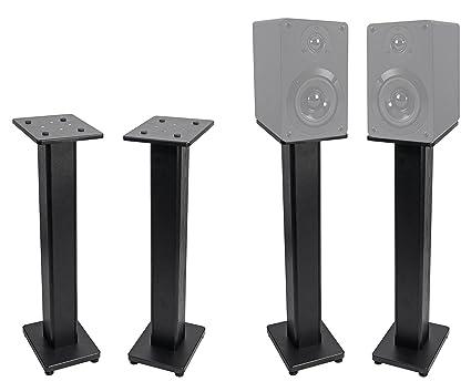 Pair Bookshelf Speaker Stands For Cerwin Vega XLS 6 Speakers